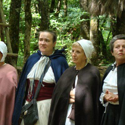Jeanne, Marie Odile, Annie et Hélène